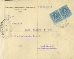 España. Alfonso XIII Correo Certificado. Alfonso XIII Correo Certificado. CHIPIONA / CADIZ. MAGNIFICA. - 1889-1931 Reino: Alfonso XIII