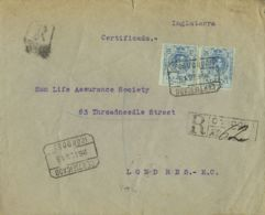 España. Alfonso XIII Correo Certificado. Alfonso XIII Correo Certificado. CERTIFICADO / CORDOBA. MAGNIFICA. - 1889-1931 Reino: Alfonso XIII