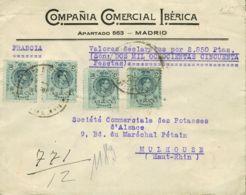 España. Alfonso XIII Correo Certificado. Alfonso XIII Correo Certificado. Valor Declarado. MAGNIFICO. - 1889-1931 Reino: Alfonso XIII