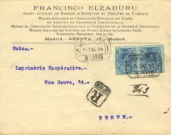 España. Alfonso XIII Correo Certificado. Alfonso XIII Correo Certificado. CERTIFICADO / MADRID. MAGNIFICO. - 1889-1931 Reino: Alfonso XIII