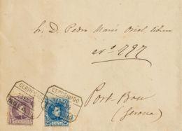 España. Alfonso XIII Correo Certificado. Sobre 245, 248. 1903. 15 Cts Y 25 Cts. Certificado De PALMA DE MALLORCA A PORT- - 1889-1931 Reino: Alfonso XIII