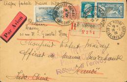 Correo Aéreo Accidentado. Sobre 232. 1929. Accidente Aéreo Ocurrido El 16 De Febrero De 1929, En El Vuelo LE HAVRE-HAUDE - Sin Clasificación