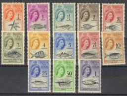 Tristán Da Cunha. MH *Yv 42/54. 1961. Serie Completa. MAGNIFICA. Yvert 2010: 130 Euros. - Tristan Da Cunha