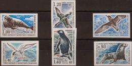 Tierras Australes-TAAF. MNH **Yv 55/60. 1976. Serie Completa. SIN DENTAR. MAGNIFICA. (Maury 2011: 58/63, 180 Euros) - Tierras Australes Y Antárticas Francesas (TAAF)