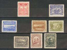 Terranova. MH *Yv 72/82. 1910. Serie Completa, A Falta Del 1 Cts, 3 Cts Y 6 Cts. MAGNIFICA. Yvert 2010: 415 Euros. - Newfoundland