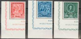 Polonia. Yv . 1946. Serie Completa. MAGNIFICA. (Michel 2004: 445/47) - Polonia