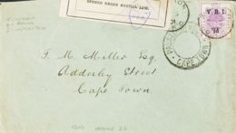 Orange. Sobre Yv 23. 1901. 1 P Sobre 1 P Violeta. Dirigida A CAPE TOWN (SUDAFRICA), Circulada Durante La Guerra Anglo-Bo - África Del Sur (...-1961)