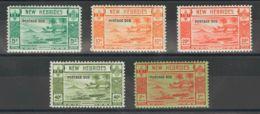 Nuevas Hébridas, Tasas. MNH **Yv 16/20. 1938. Serie Completa. MAGNIFICA. (SGD6/10 180£) Yvert 2013: 245 Euros. - Nueva Hebrides