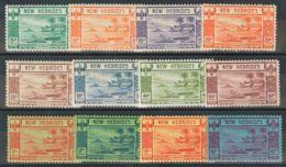 Nuevas Hébridas. MH *Yv 112/23. 1938. Serie Completa. MAGNIFICA. (SG52/63 325£) Yvert 2013: 290 Euros. - Nueva Hebrides