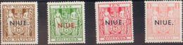 Niue. MNH **Yv 38/41. 1931. Serie Completa. MAGNIFICA. Yvert 2008: 225 Euros. - Niue