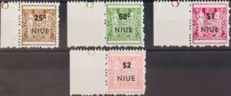 Niue. MNH **Yv 102/05a. 1967. Serie Completa. DENTADO 11. MAGNIFICA. Yvert 2008: 85 Euros. - Niue