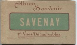 SAVENAY - Carnet De 12 Vues - Edition Chapeau F. (Nbreuses Scènes De Rues) - Savenay