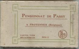 FROYENNES - Carnet De 17 Vues - PENSIONNAT De¨PASSY - (Scènes  Animées) - Tournai