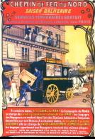 Nos Transports En 1900 : Chemin De Fer Du Nord - Publicité