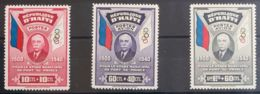 Haití. MH *Yv 277, Aéreo 12/13. 1940. Serie Completa, Correo Ordinario Y Aéreo. MAGNIFICA. Yvert 2010: 195 Euros. - Haití