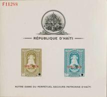 Haití. MNH **Yv 282, 286. 1942. 10 Cts Oliva Y 50 Cts Azul Verdoso, Sobre Hojita Numerada De La American Bank Note. Sobr - Haití