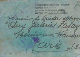 Correo Aéreo Accidentado. Sobre . 1928. Accidente Aéreo Ocurrido El 15 De Diciembre En Malgrat, Debido A Una Mala Visibi - Aviones