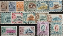 Chipre. MNH **Yv 171/85. 1960. Serie Completa. MAGNIFICA. Yvert 2014: 225 Euros. - Chipre