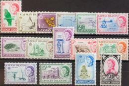 Caimanes. MNH **Yv 157/71. 1962. Serie Completa. MAGNIFICA. Yvert 2013: 110 Euros. - Caimán (Islas)