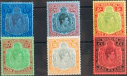 Bermudas. MH *Yv 114/19B. 1938. Serie Completa. DENTADO 14. MAGNIFICA. (SG116a/21 1055£) Yvert 2011: 417 Euros. - Bermudas