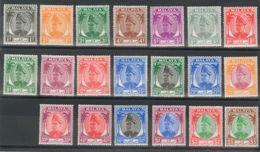 Malasia-Selangor. MH *Yv 47/61. 1949. Serie Completa, A Falta Del Valor De 30 Cts. MAGNIFICA. (SG90/110 110£) Yvert 2008 - Selangor