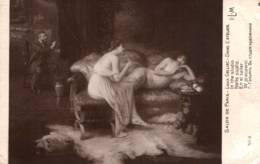 CPA - Louis GALLIAC - Dans L'Atelier (Femmes) ... Edition LAPINA - Paintings
