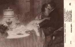 CPA - L. BARBUT-DAVRAU - L'Heure Du Berger (Couple) ... Edition LAPINA - Paintings