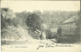 Sy -- Vers La Chapelle.   (2 Scans) - Ferrieres