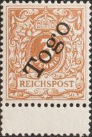 Togo. MNH **Yv 1. 1897. 3 P Bistre (Lebhaftbrawnocker), Borde De Hoja. MAGNIFICO. (Mi1c 190 Euros) - Togo (1960-...)