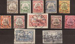 Togo. ºYv 7/18. 1900. Serie Completa, A Falta Del 5 M. MAGNIFICA Y RARA. (Mi7/18 400 Euros) - Togo (1960-...)