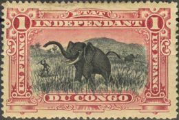 Congo Belga. MH *Yv 26. 1894. 1 Fr Carmín. BONITO. Yvert 2013: 300 Euros. - Congo - Brazzaville