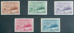 Arabia Saudita. MNH **Yv 135/39. 1952. Serie Completa. MAGNIFICA. Yvert 2011: 180 Euros. - Arabia Saudita