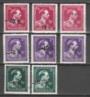 Belgie      .    OBP       .     8 Zegels   .         **      .       Postfris  .   /   .    Neuf SANS Charniere - Unused Stamps