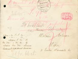 Yugoslavia. Sobre Yv 171, 173, 178. 1931. 50 P Sepia, 2 D Gris Negro Y 10 D Castaño Oliva (franqueados Al Dorso). Valor - Sin Clasificación