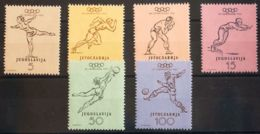 Yugoslavia. MH *Yv 611/16. 1952. Serie Completa. MAGNIFICA. Yvert 2013: 85 Euros. - Yugoslavia