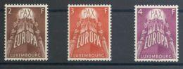 Luxemburgo. MNH **Yv 531/33. 1957. Serie Completa. MAGNIFICA. Yvert 2012: 150 Euros. - Sin Clasificación