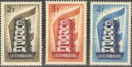 Luxemburgo. MH *Yv 514/16. 1956. Serie Completa. MAGNIFICA. Yvert 2012: 175 Euros. - Sin Clasificación