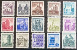 Austria. MNH **Yv 869AA/74A. 1957. Serie Completa. MAGNIFICA. Yvert 2011: 55 Euros. - Austria