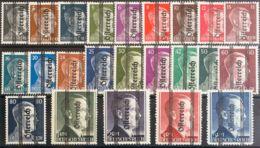 Austria. MNH **Yv 553/75. 1945. Serie Completa. MAGNIFICA. Cert. BPP. (Glavanovitz) Yvert 2015: 900 Euros. - Austria