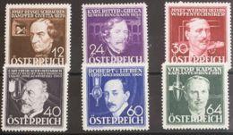 Austria. MNH **Yv 489/94. 1936. Serie Completa. MAGNIFICA. Yvert 2011: 60 Euros. - Austria