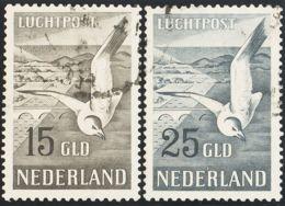 Holanda, Aéreo. ºYv 12/13. 1951. Serie Completa. MAGNIFICA. Yvert 2012: 320 Euros. - Holanda