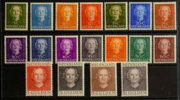 Holanda. MH *Yv 512A/27. 1949. Serie Completa. MAGNIFICA. Yvert 2015: 725 Euros. - Holanda