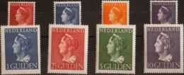 Holanda. MNH **Yv 438A/45. 1946. Serie Completa. MAGNIFICA Y RARA. Yvert 2012: 600 Euros. - Holanda