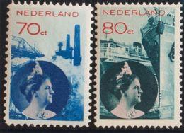 Holanda. MH *Yv 234, 258. 1931. 70 Cts Azul Y Rojo Y 80 Cts Azul Verde Y Rojo. MAGNIFICOS. Yvert 2012: 185 Euros. - Holanda