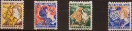 """Holanda. MNH **Yv 245/48a. 1932. Serie Completa. DENTADO DE """"ROLLOS"""". MAGNIFICA. Yvert 2012: 130 Euros. - Holanda"""