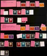Holanda. MNH/USED **/ºYv . (1970ca). Interesante Conjunto De Variedades De Dentado Y Combinaciones, De Las Emisiones Bás - Holanda