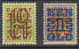 Holanda. MNH **Yv 129/30. 1923. Serie Completa. MAGNIFICA. Yvert 2012: 240 Euros. - Holanda