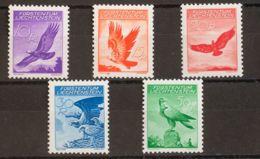 Liechtenstein, Aéreo. MNH **Yv 9/13. 1934. Serie Completa. MAGNIFICA. Yvert 2015: 375 Euros. - Liechtenstein