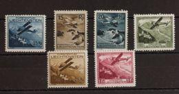Liechtenstein. MH *Yv 1/6. 1930. Serie Completa. MAGNIFICA. Yvert 2015: 200 Euros. - Liechtenstein