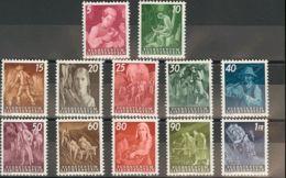 Liechtenstein. MNH **Yv 251/62. 1951. Serie Completa. MAGNIFICA. Yvert 2012: 170 Euros. - Liechtenstein